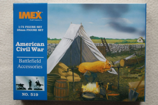 Imex 1/72 IM519 Battlefield Accessories (ACW)
